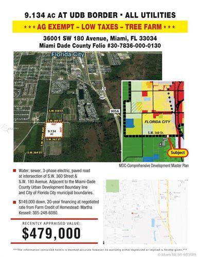Photo of 36001 SW 180 AVENUE, Florida City, FL 33034 (MLS # A10833961)