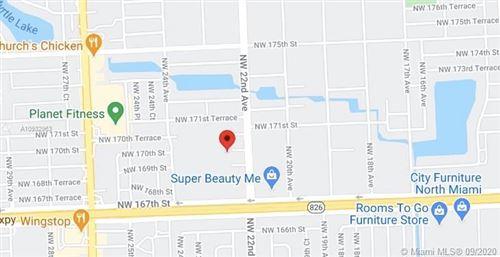 Foto de inmueble con direccion 2264 NW 170 Miami Gardens FL 33056 con MLS A10932963