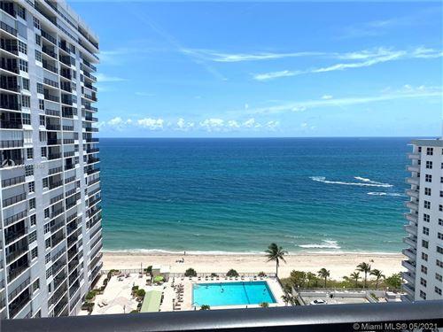 Photo of 4280 Galt Ocean #17B, Fort Lauderdale, FL 33308 (MLS # A11035966)