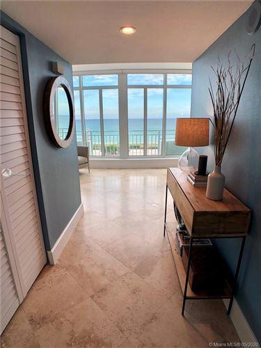 Photo of 7600 Collins Ave #PH 1206, Miami Beach, FL 33141 (MLS # A10852969)