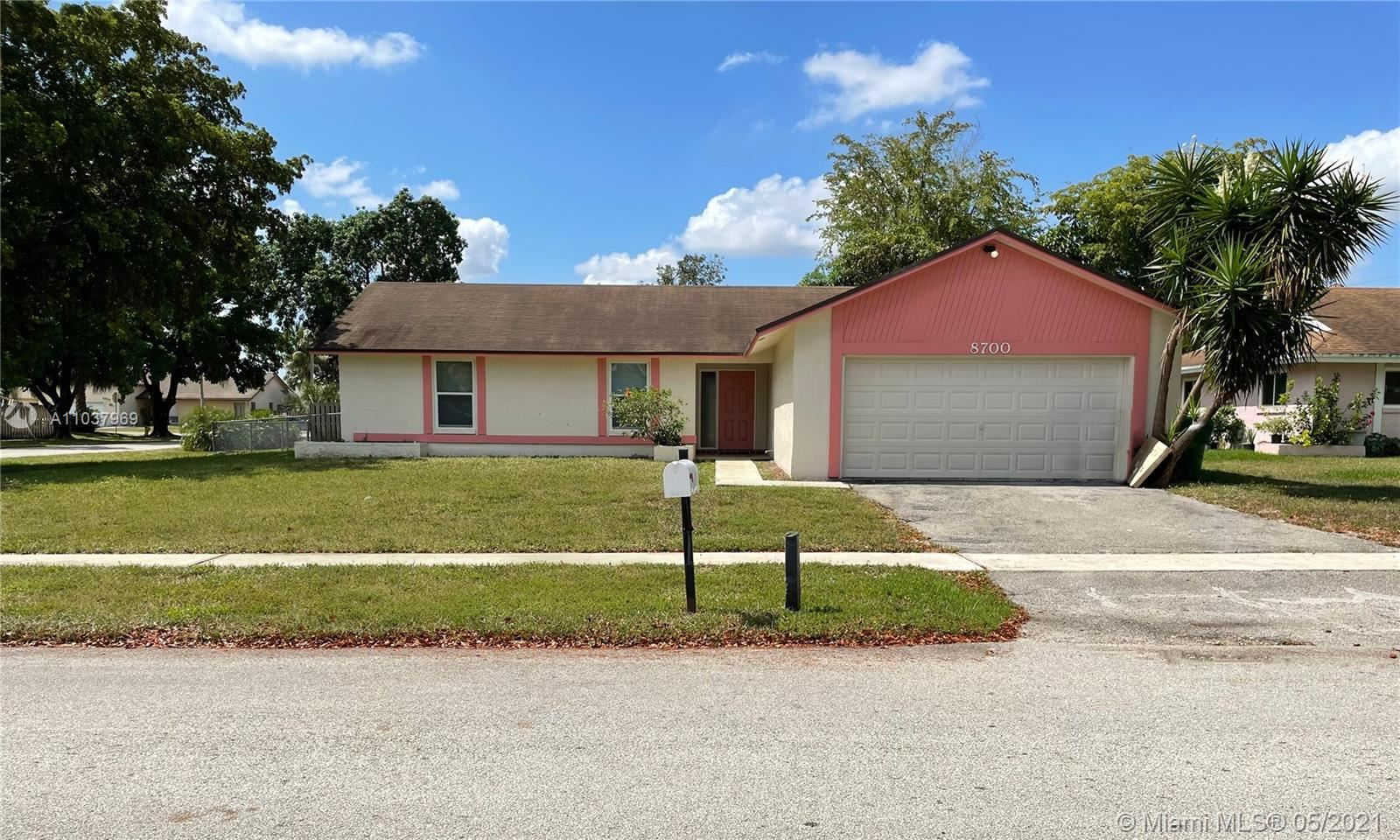 Photo of 8700 NW 48th St, Lauderhill, FL 33351 (MLS # A11037969)