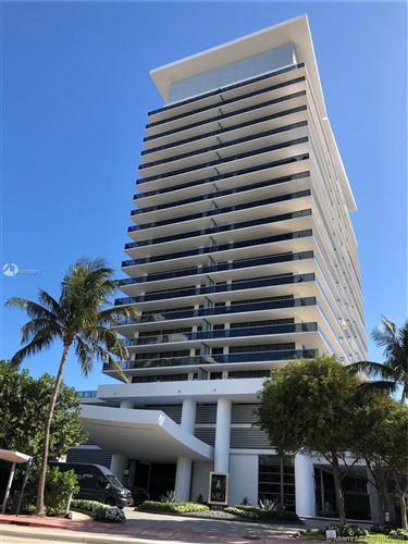 Foto de inmueble con direccion 5875 Collins Ave #1605 Miami Beach FL 33140 con MLS A10742971
