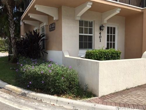 Photo of 401 SW 147th Ave #116, Pembroke Pines, FL 33027 (MLS # A10774971)