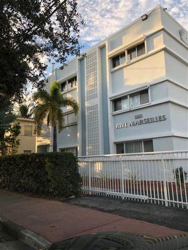 Photo of 1185 Marseille Dr #310, Miami Beach, FL 33141 (MLS # A11101978)