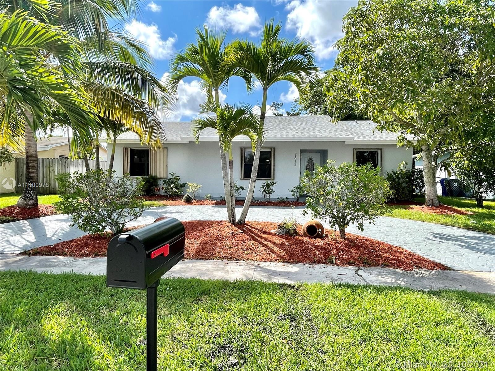 Photo of 7812 SW 7th Ct, North Lauderdale, FL 33068 (MLS # A11100978)