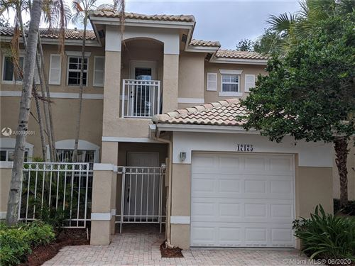 Photo of Listing MLS a10849981 in 17175 NW 23rd St #17175 Pembroke Pines FL 33028