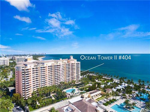 Photo of 791 Crandon Blvd #404, Key Biscayne, FL 33149 (MLS # A11036981)