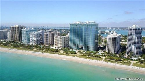 Photo of 10201 E Collins Ave #2107, Bal Harbour, FL 33154 (MLS # A11043981)