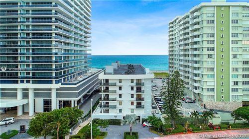 Foto de inmueble con direccion 5845 Collins Ave #504 Miami Beach FL 33140 con MLS A10786982