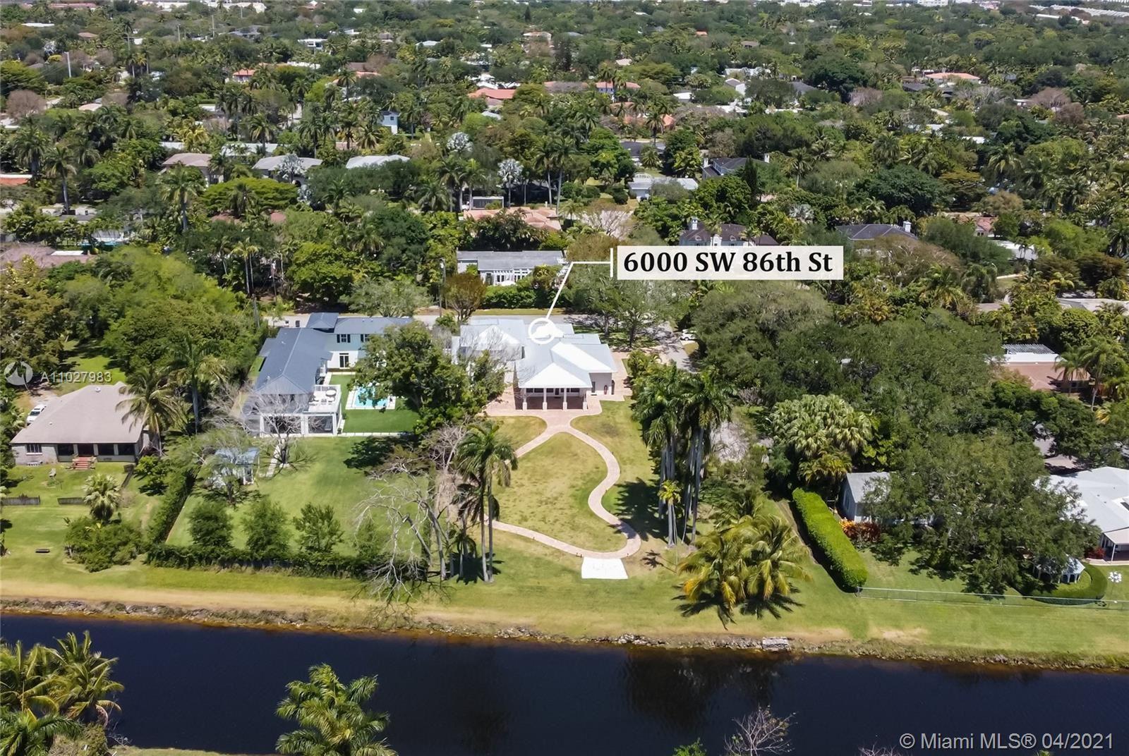 6000 SW 86th St, South Miami, FL 33143 - #: A11027983