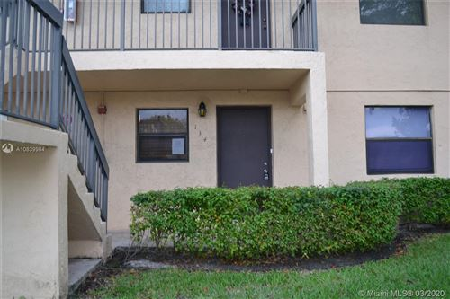 Photo of 134 NW 91st Ave #102, Pembroke Pines, FL 33024 (MLS # A10839984)