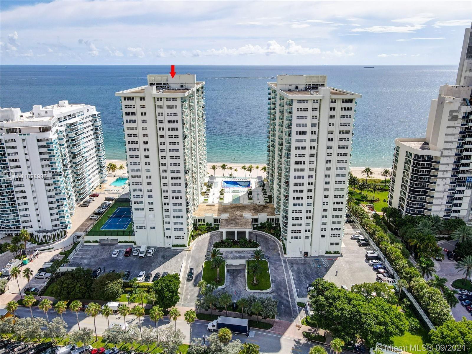 Photo of 3410 Galt Ocean Dr #1601N, Fort Lauderdale, FL 33308 (MLS # A11098986)