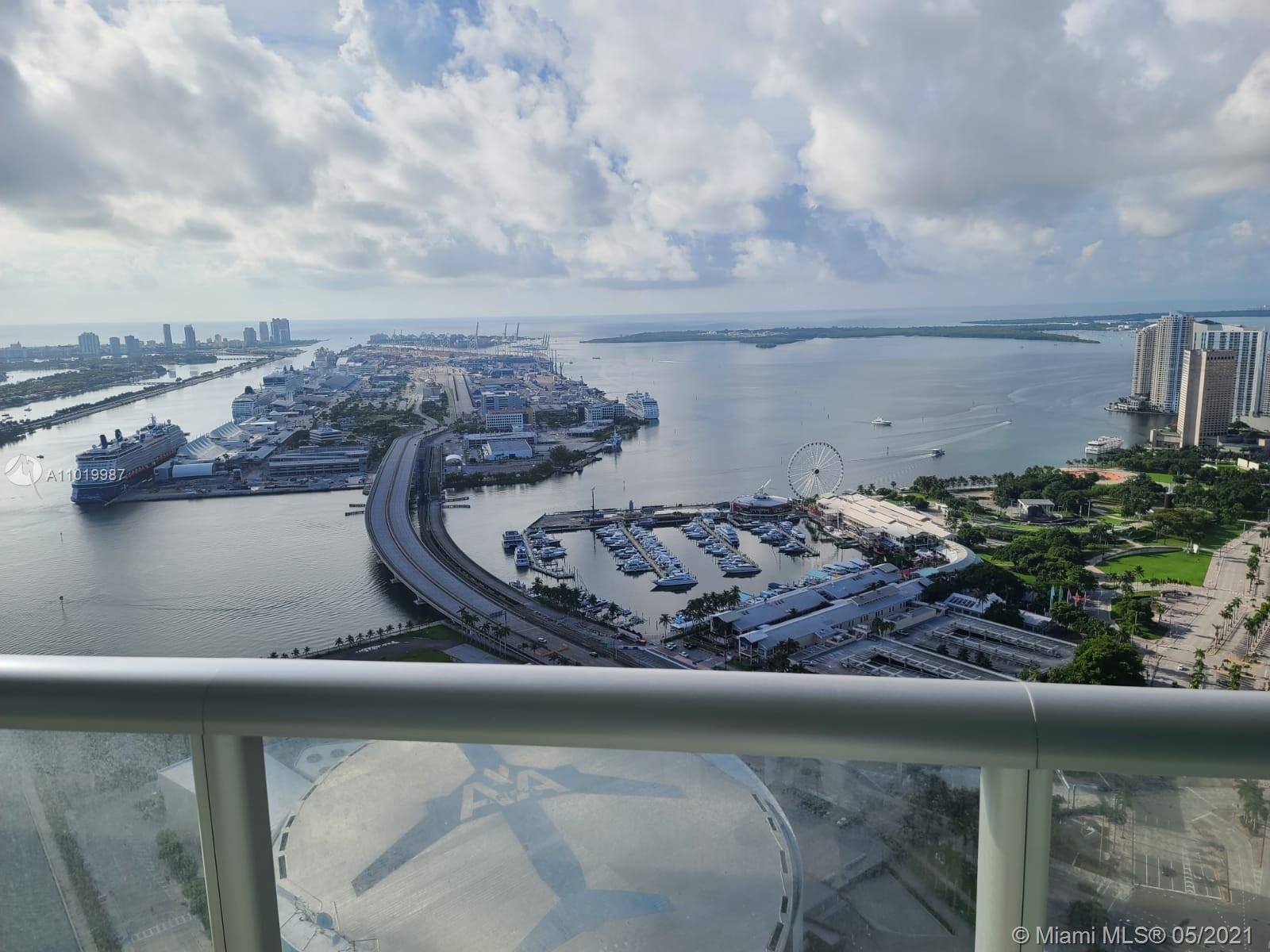 888 Biscayne Blvd #5507, Miami, FL 33132 - #: A11019987