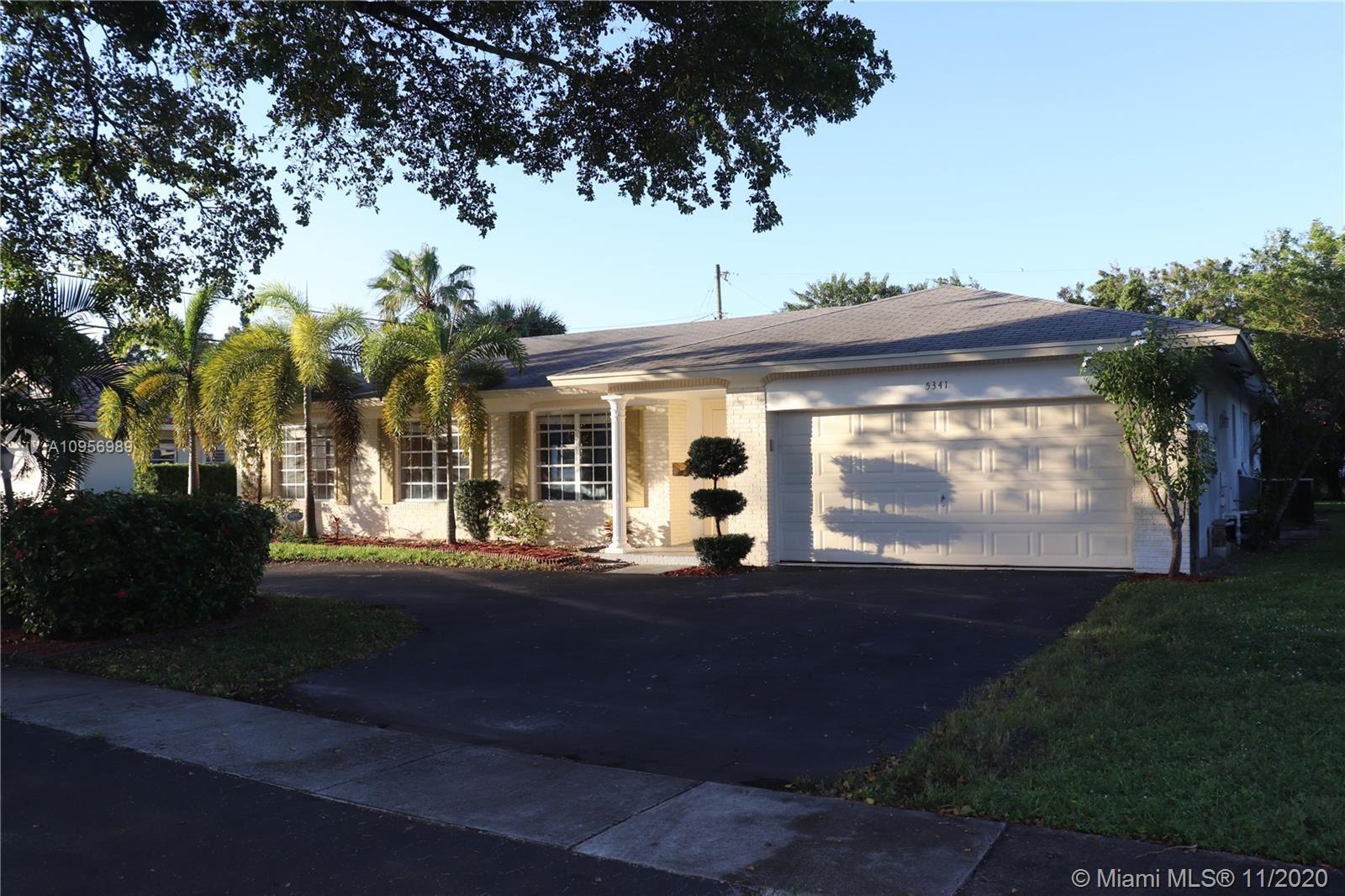 Photo of 5341 SW 9th Ct, Plantation, FL 33317 (MLS # A10956989)