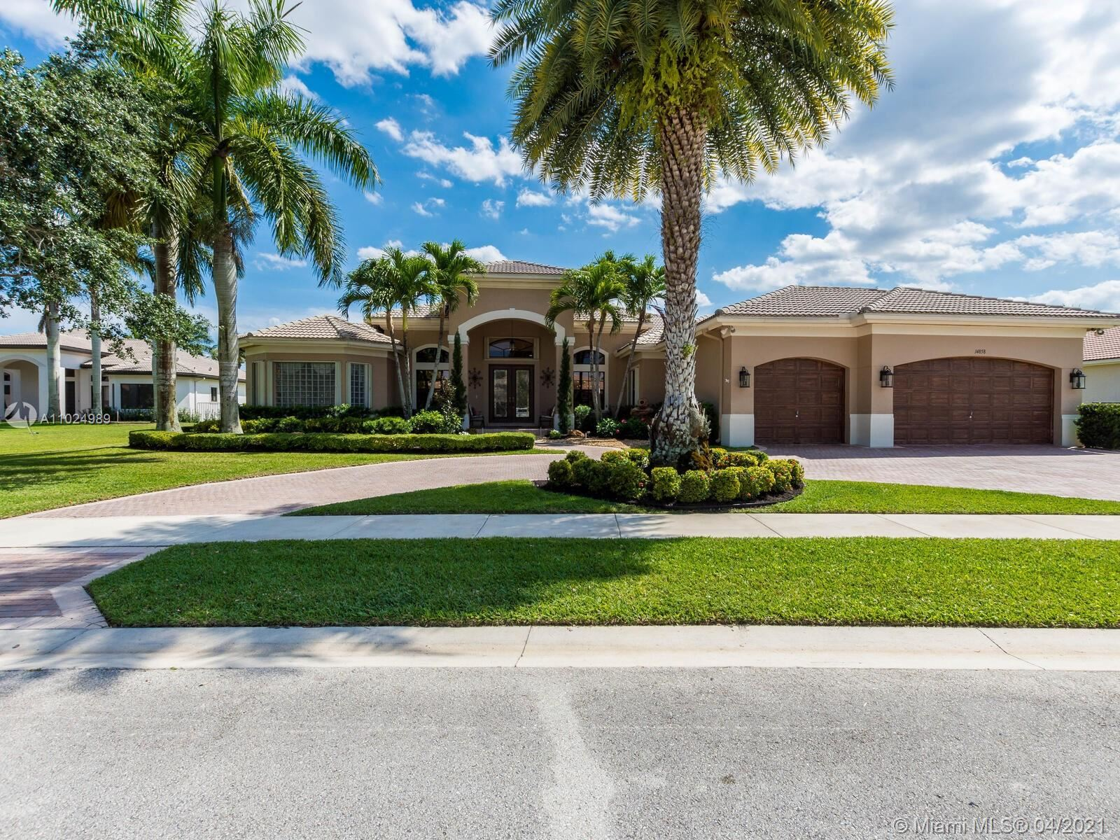 14858 SW 34th St, Davie, FL 33331 - #: A11024989