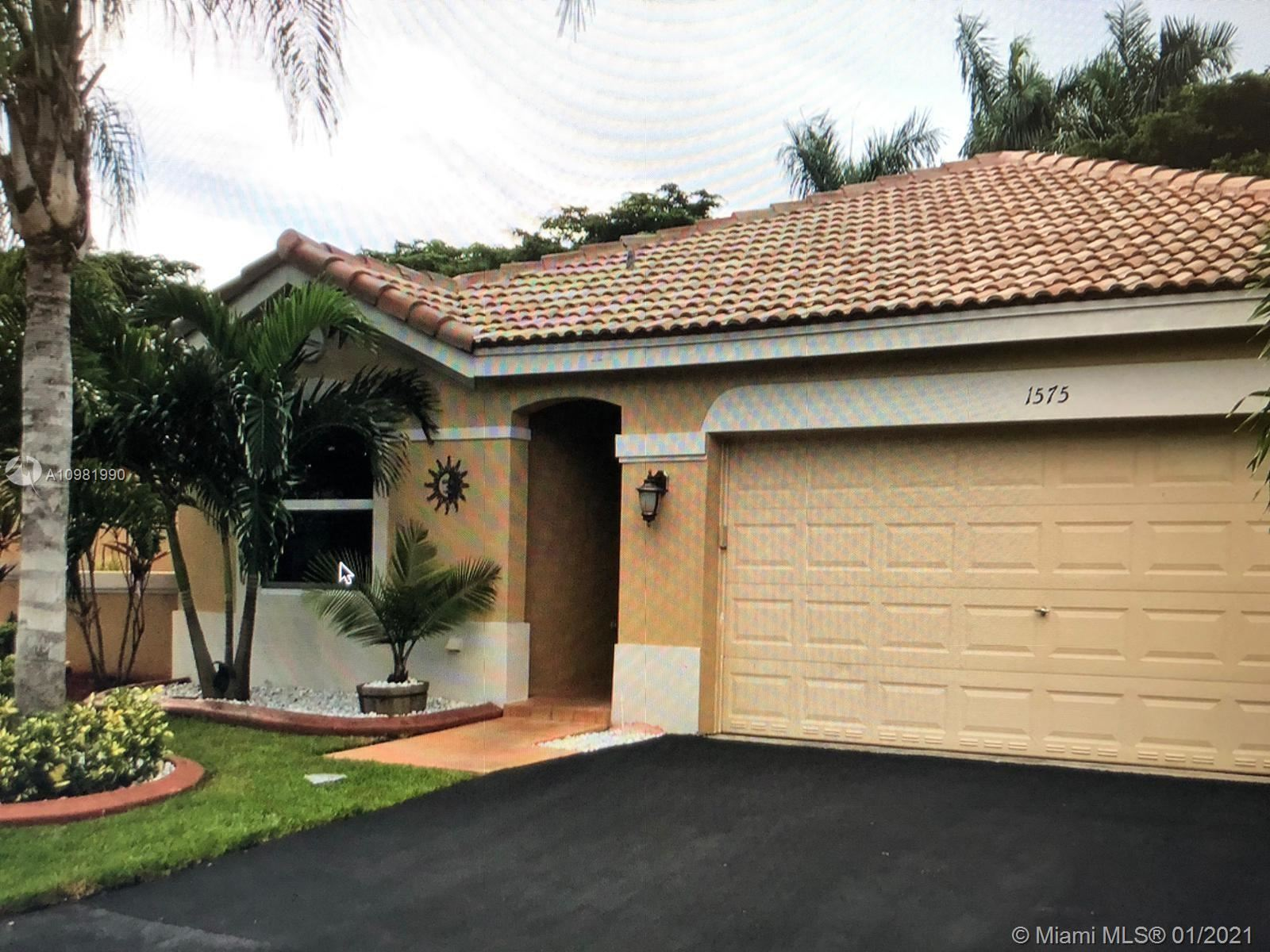 1575 Zenith Way, Weston, FL 33327 - #: A10981990