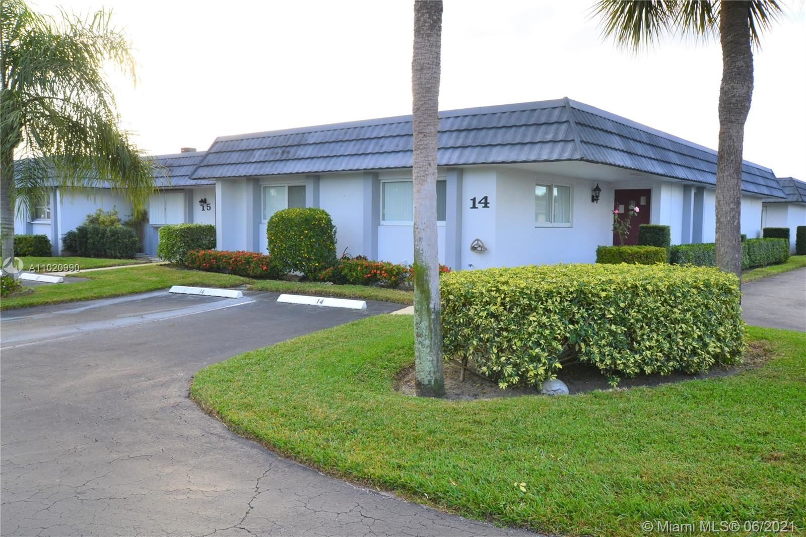 2886 Fernley Dr E #14, West Palm Beach, FL 33415 - #: A11020990