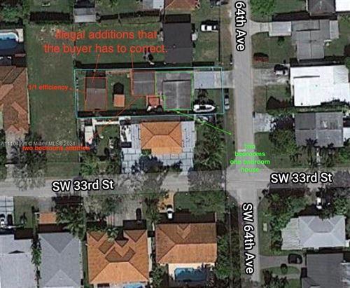 Photo of 3236 SW 64th Ave, Miami, FL 33155 (MLS # A11104991)