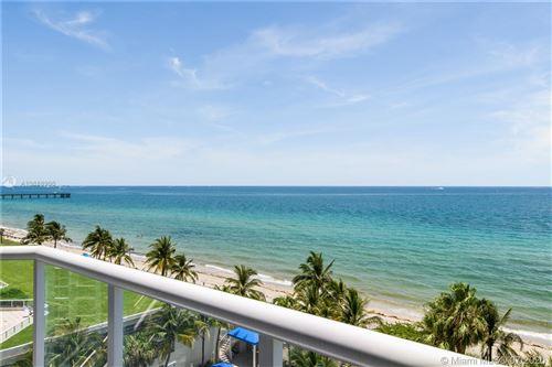 Photo of 6001 N Ocean Dr #701, Hollywood, FL 33019 (MLS # A10888996)