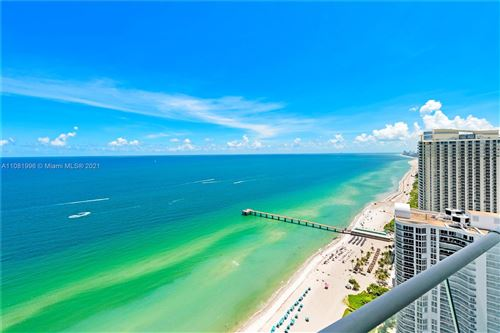 Photo of 16901 Collins Ave #3505, Sunny Isles Beach, FL 33160 (MLS # A11081996)