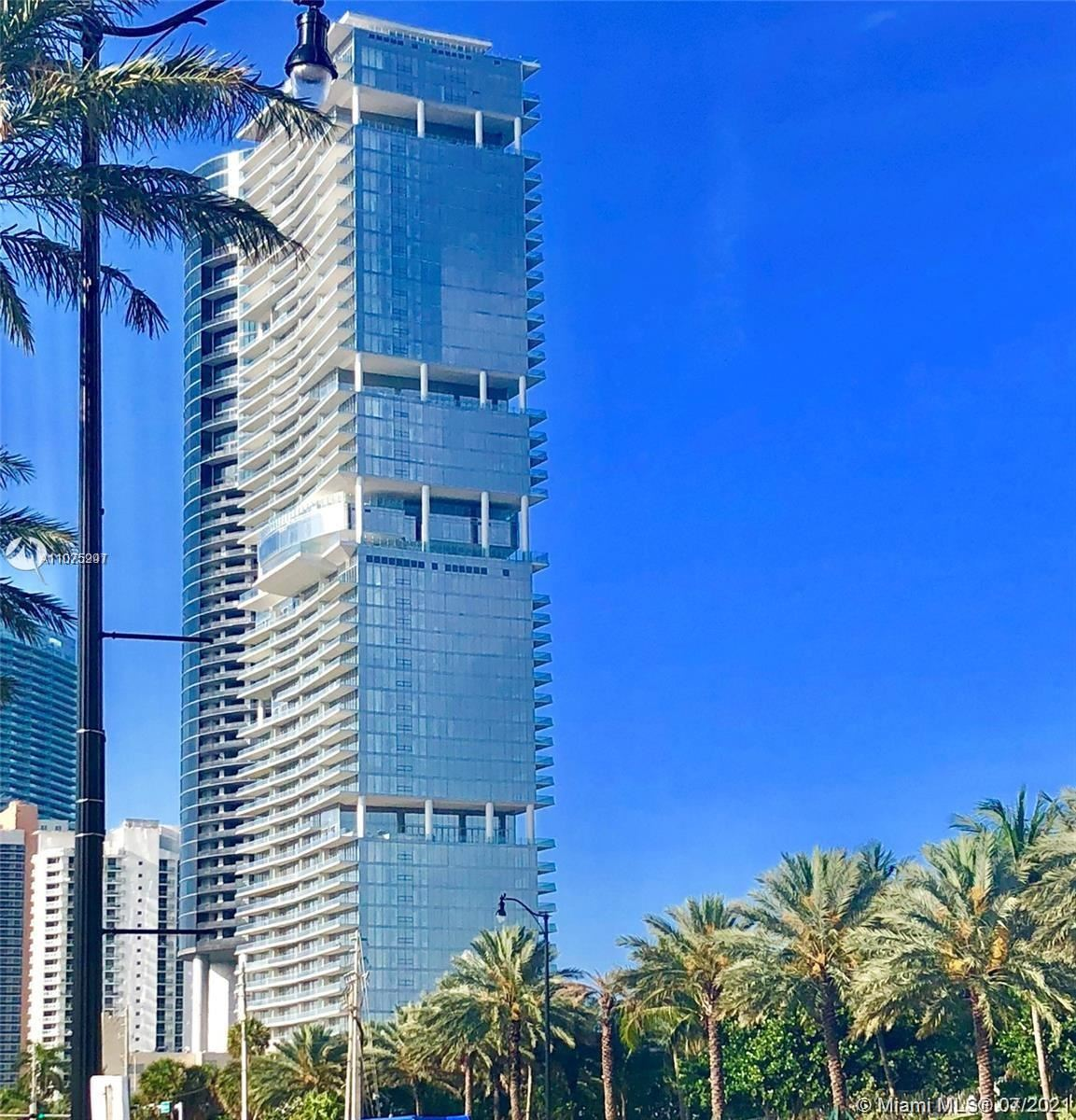 Photo of 18501 Collins Ave #501, Sunny Isles Beach, FL 33160 (MLS # A11075997)