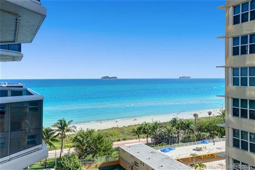 Photo of 4775 Collins Ave #904, Miami Beach, FL 33140 (MLS # A10968998)