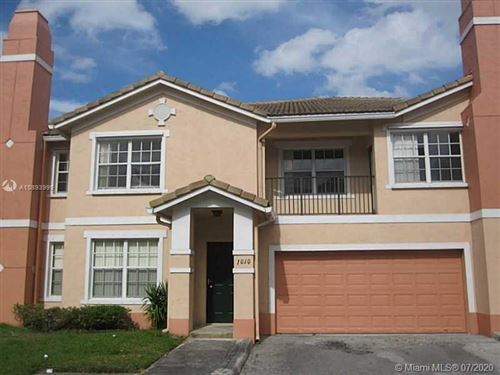 Photo of 1010 Belmont Ln #1010, North Lauderdale, FL 33068 (MLS # A10893999)