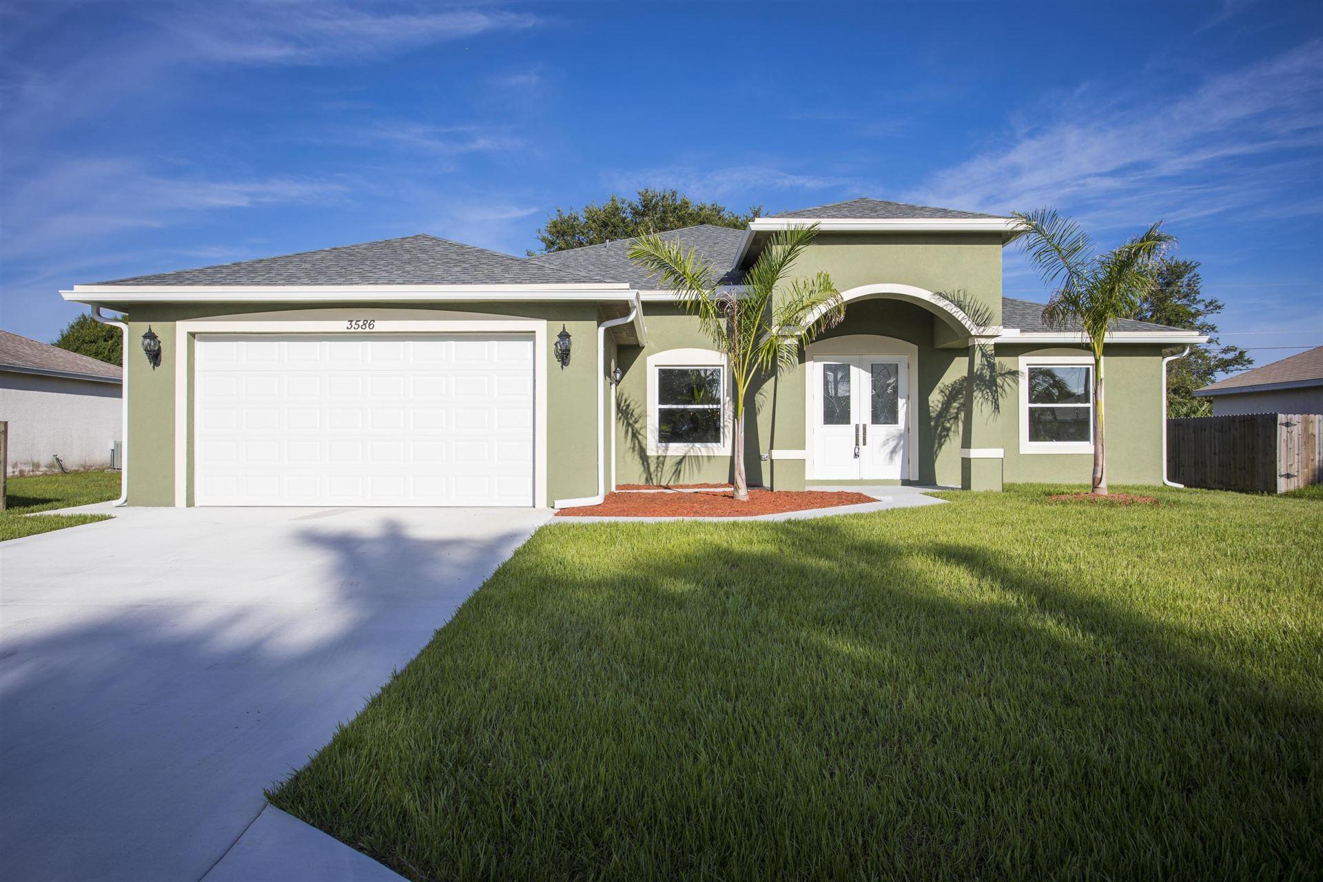 3586 SW San Benito Street, Port Saint Lucie, FL 34953 - #: RX-10631000