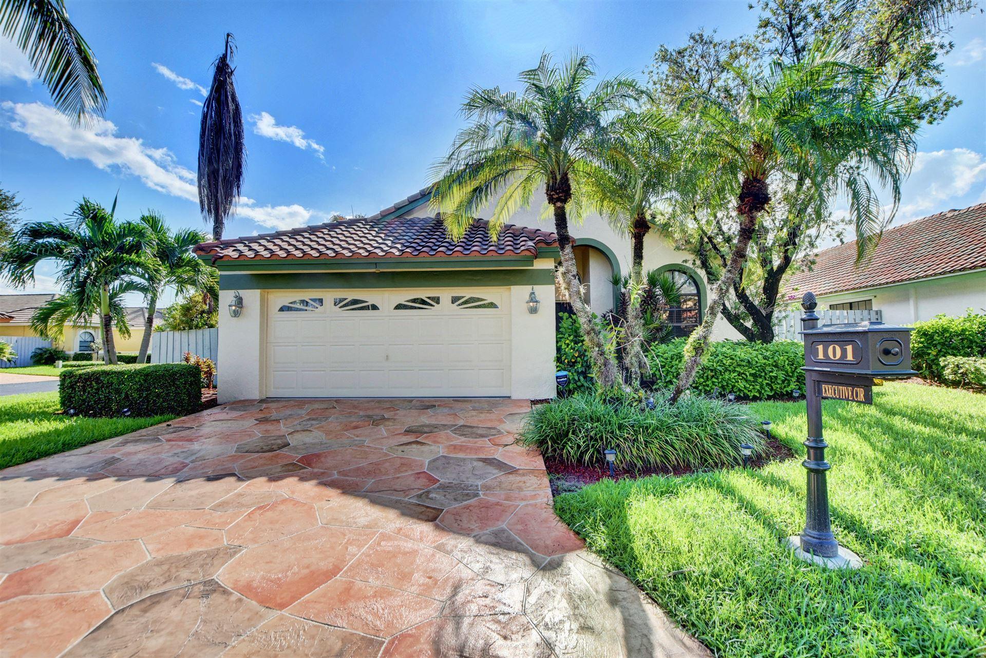 101 Executive Circle, Boynton Beach, FL 33436 - #: RX-10645000