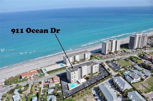 Photo of 911 Ocean Drive #202, Juno Beach, FL 33408 (MLS # RX-10626001)
