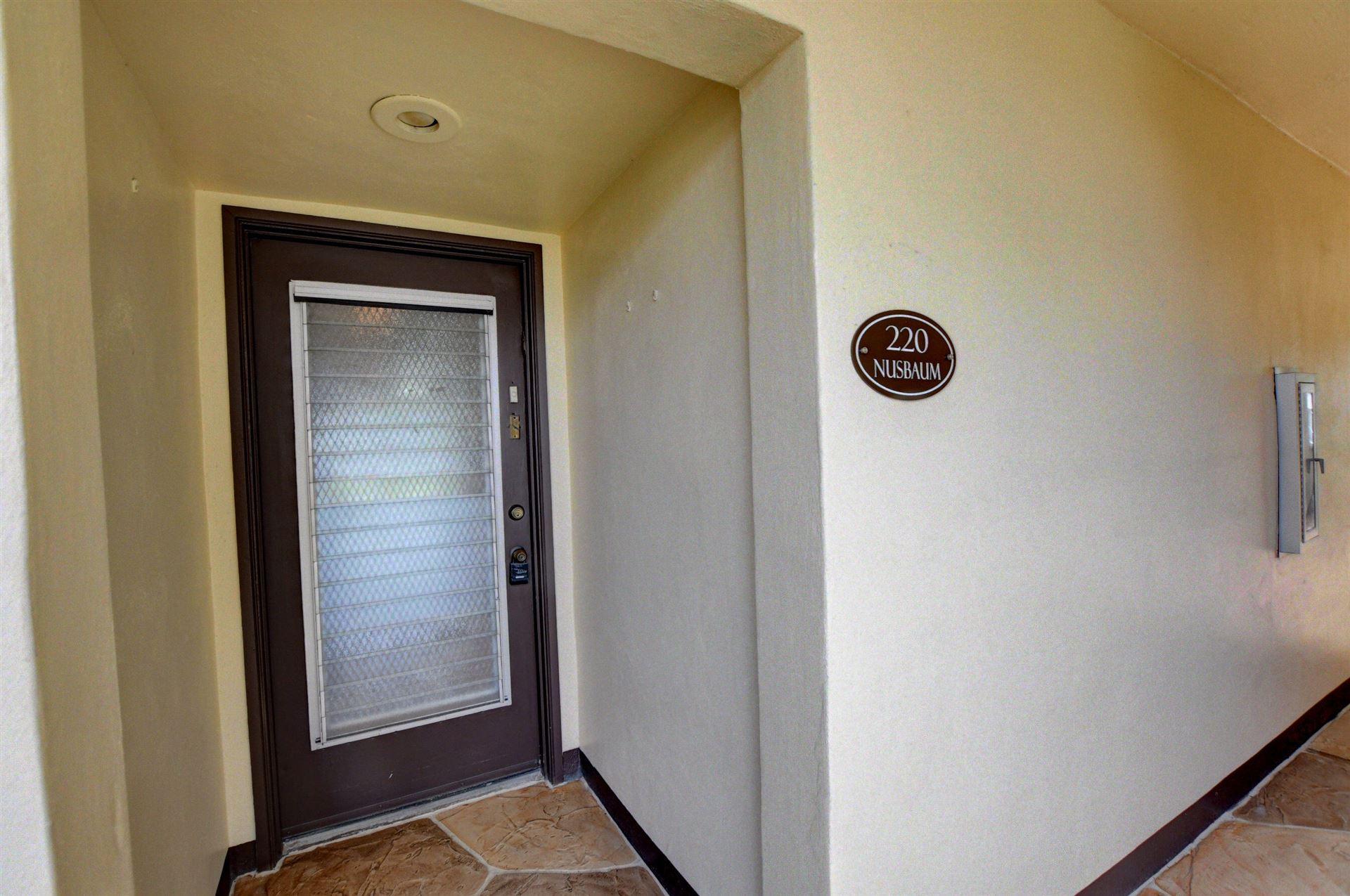 220 Capri E, Delray Beach, FL 33484 - #: RX-10748002