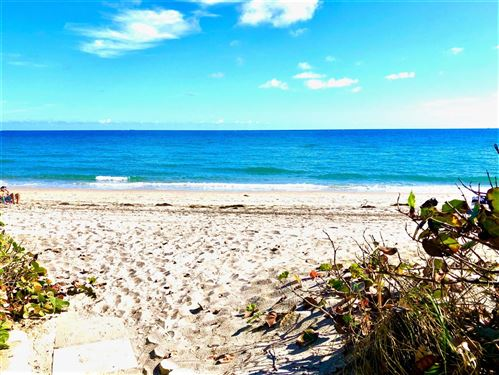 Photo of 3450 S Ocean Boulevard #306, Highland Beach, FL 33487 (MLS # RX-10669004)
