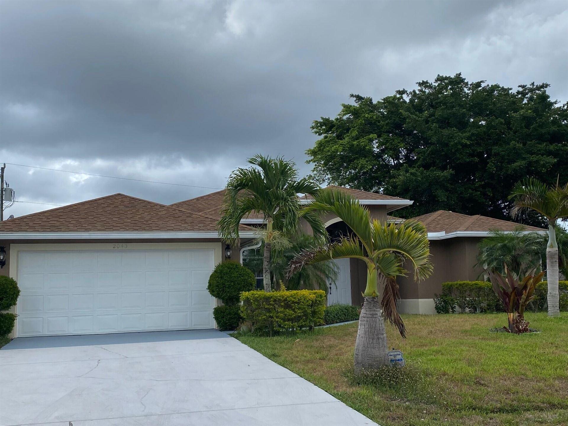 2043 SW Mcallister Lane, Port Saint Lucie, FL 34953 - #: RX-10721005