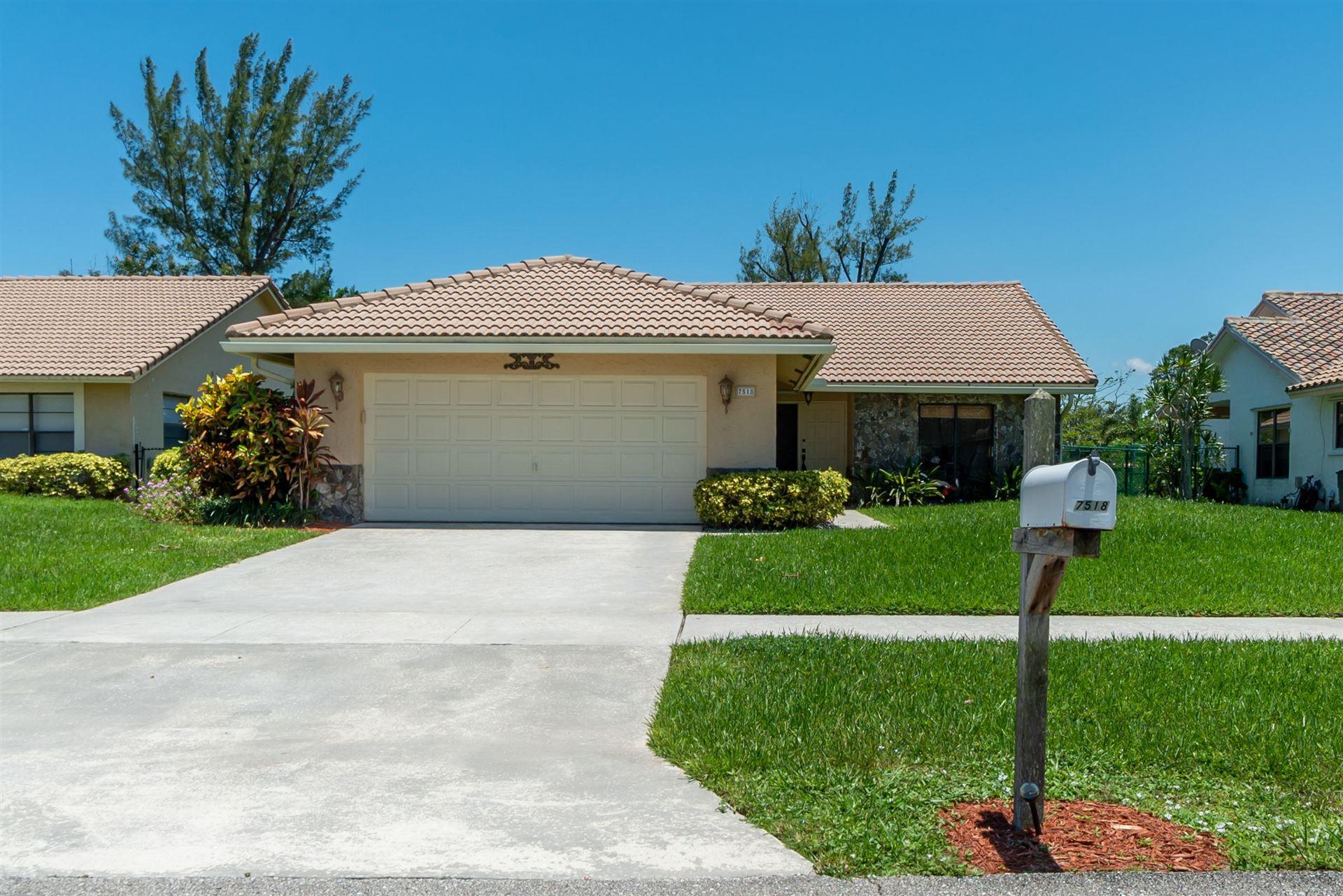 7518 Silver Woods Court, Boca Raton, FL 33433 - #: RX-10632006