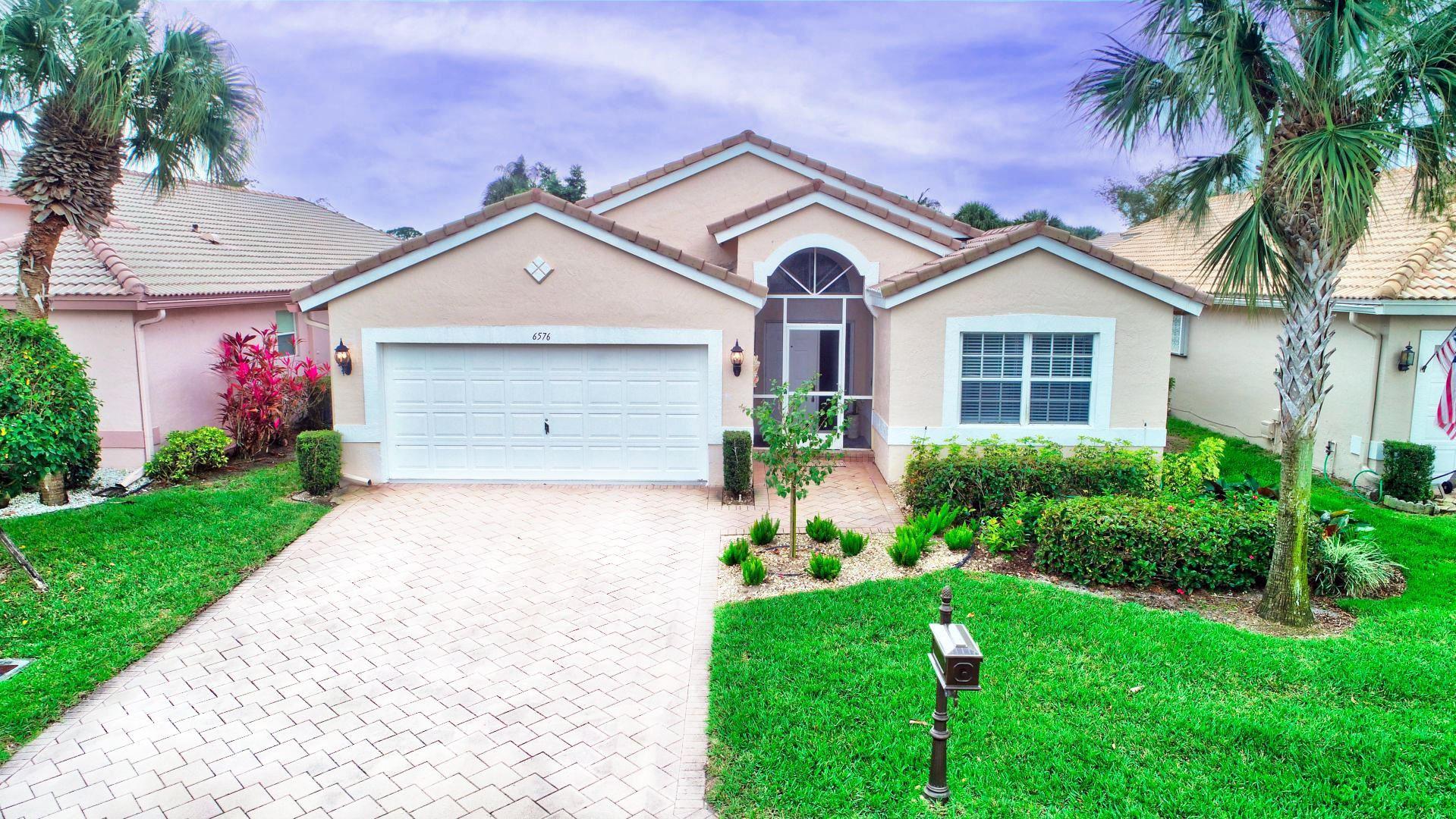 6576 Bayhill Terrace, Boynton Beach, FL 33437 - #: RX-10693007
