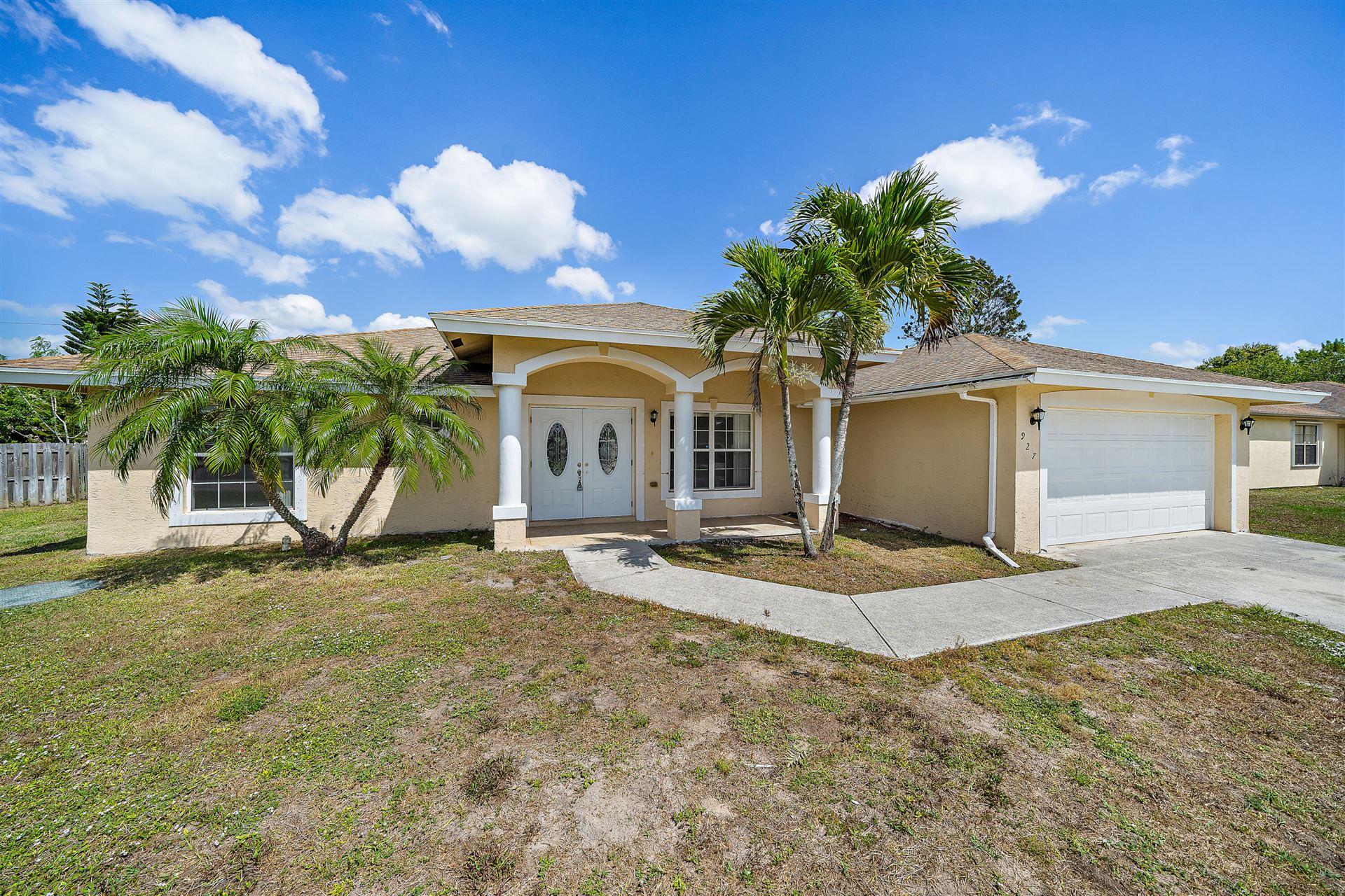 927 SW Mccall Road, Port Saint Lucie, FL 34953 - MLS#: RX-10705009