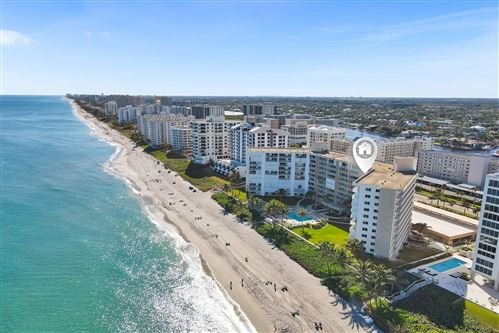 Photo of 3101 S Ocean Blvd Apt 818-820, Highland Beach, FL 33487 (MLS # RX-10684011)