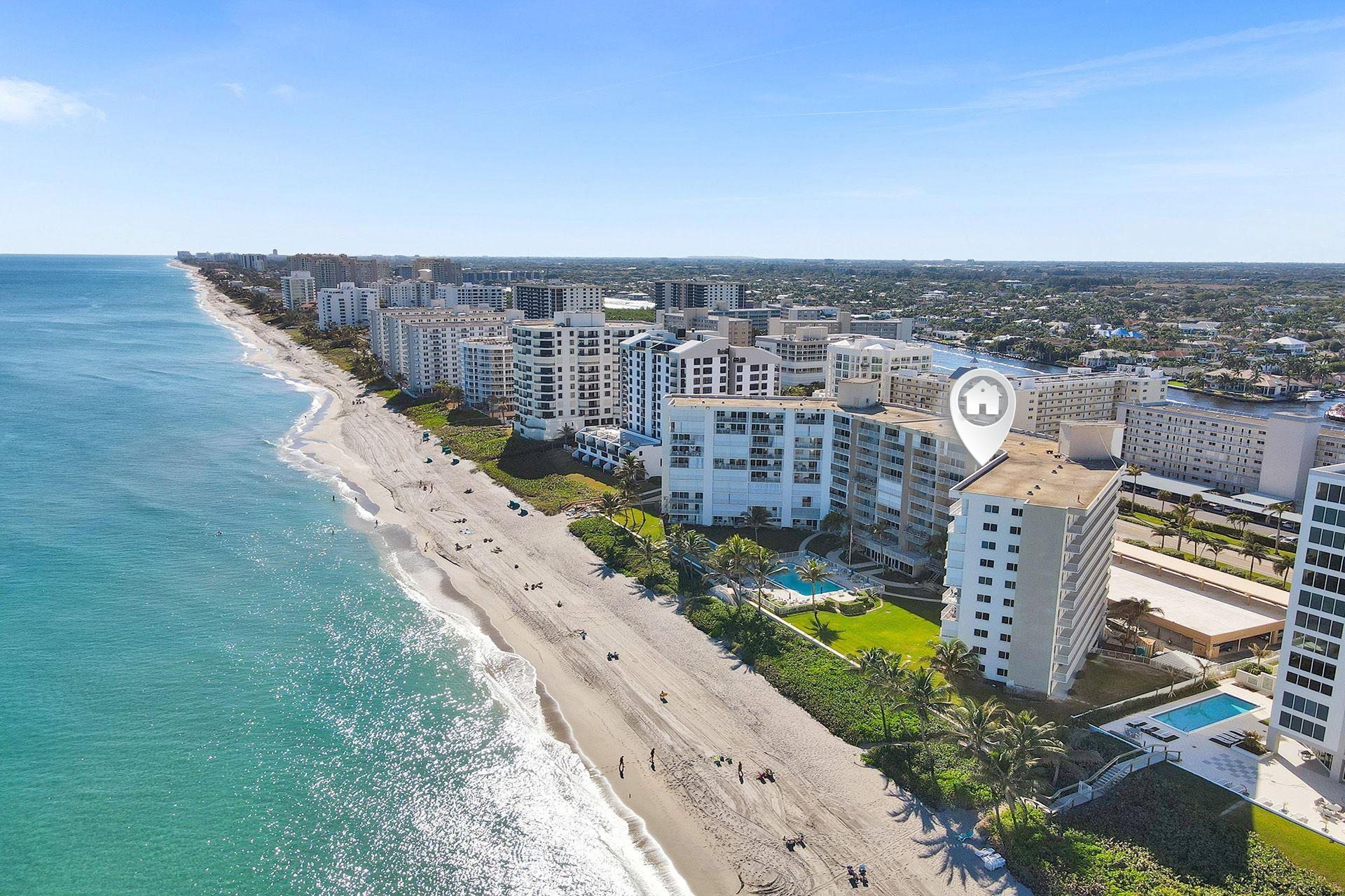 3101 S Ocean Blvd Apt 818-820, Highland Beach, FL 33487 - #: RX-10684011