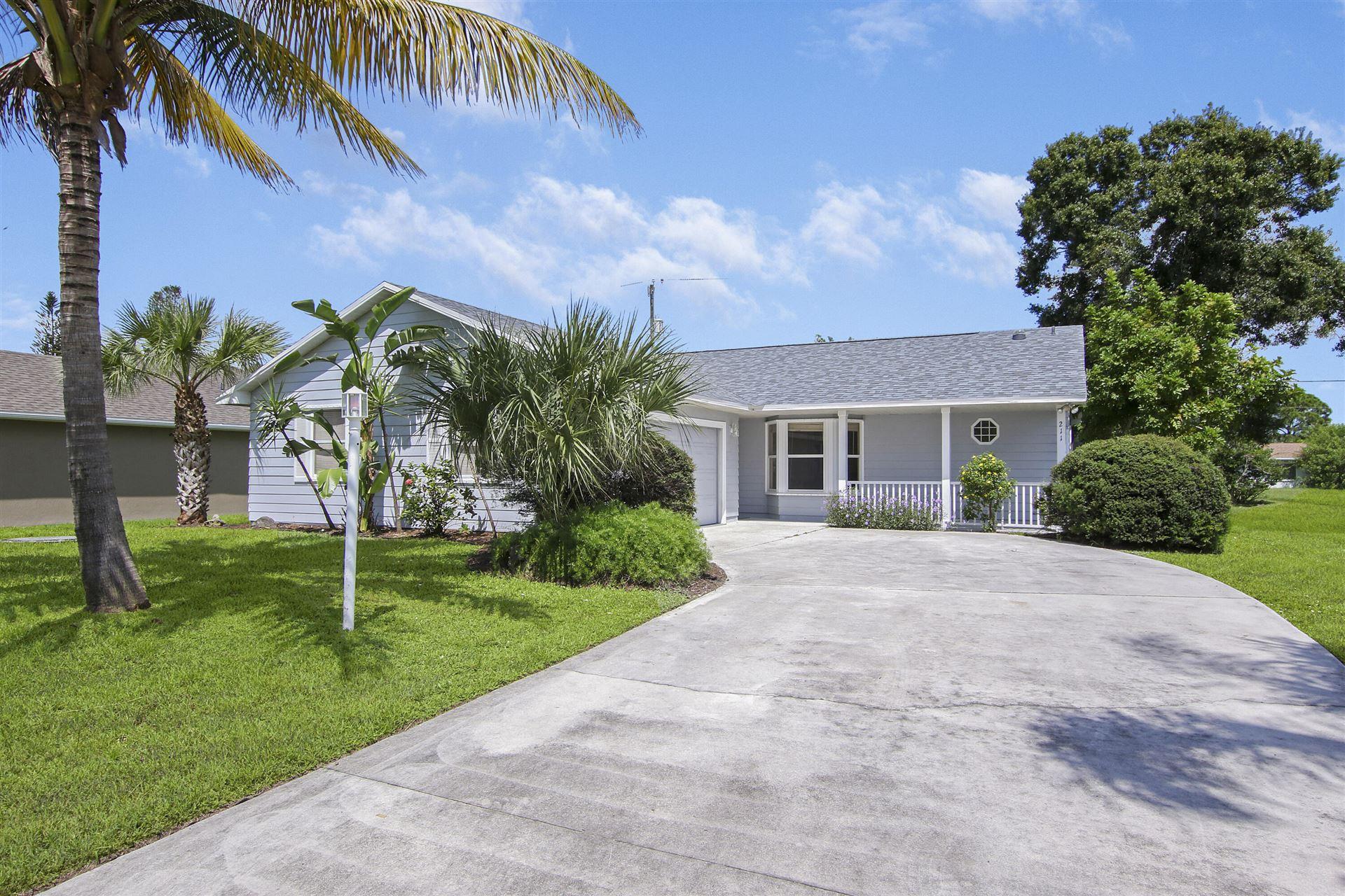 211 SW Duval Avenue, Port Saint Lucie, FL 34983 - MLS#: RX-10745011