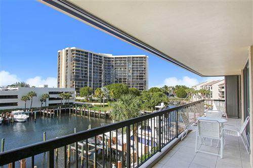 Photo of 4748 S Ocean Boulevard #302, Highland Beach, FL 33487 (MLS # RX-10666014)