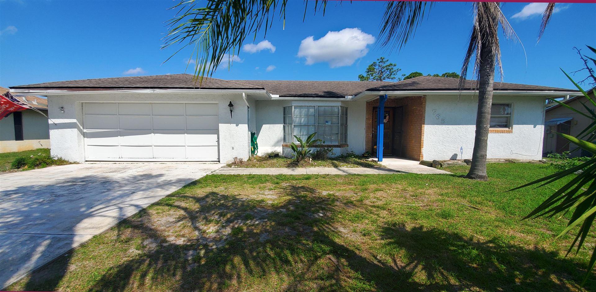 765 SE Norcross Avenue, Port Saint Lucie, FL 34983 - #: RX-10695014