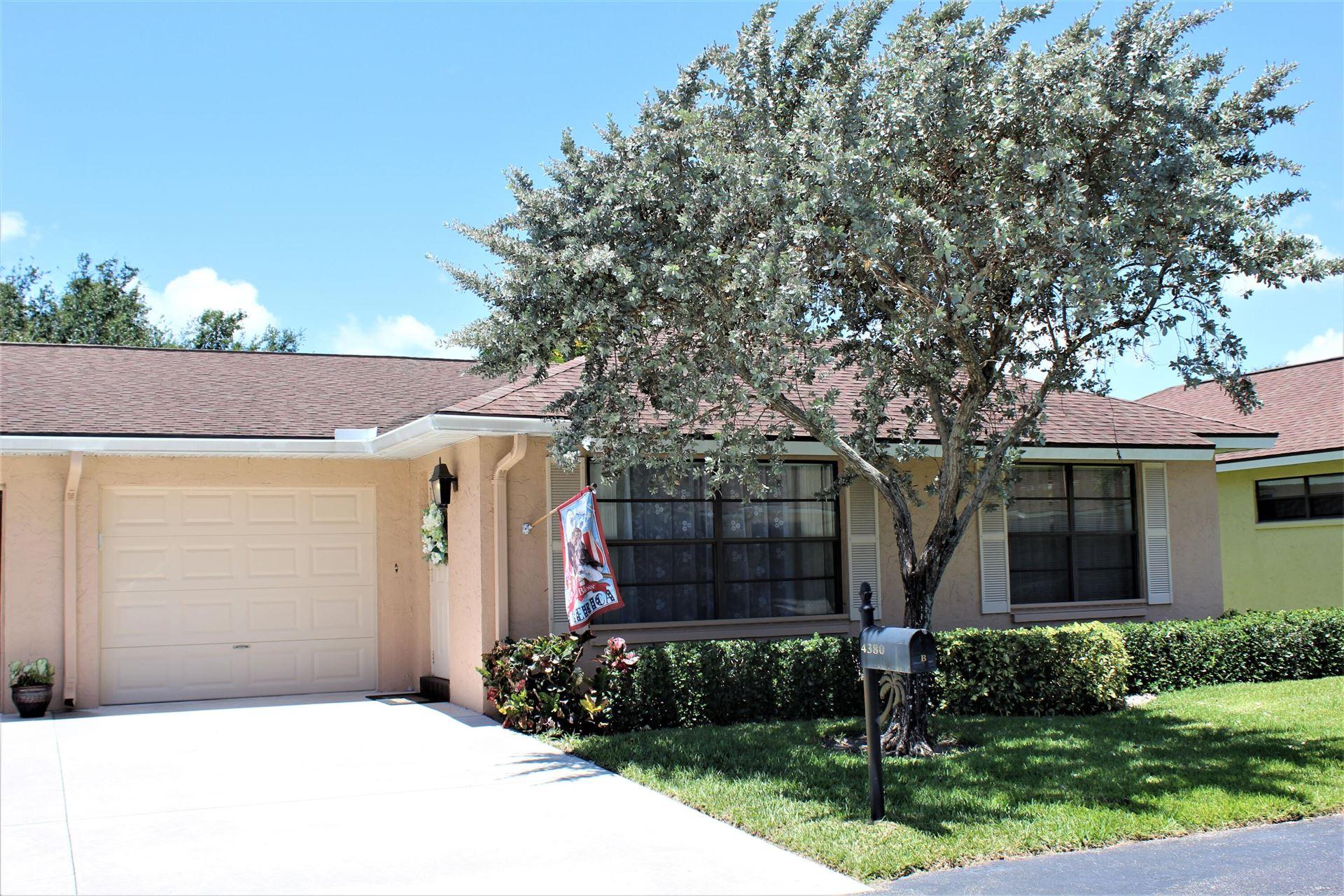 4380 Cedar Tree Place #B, Boynton Beach, FL 33436 - MLS#: RX-10723014