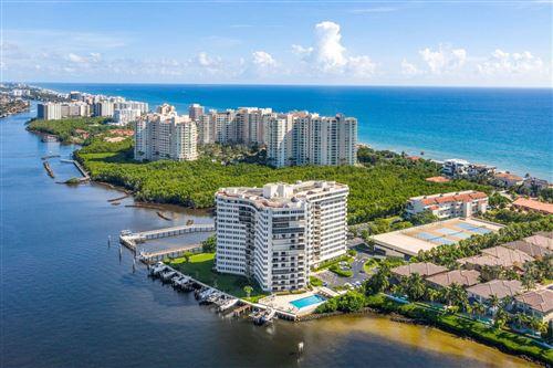 Photo of 3912 S Ocean Boulevard #1101, Highland Beach, FL 33487 (MLS # RX-10748015)