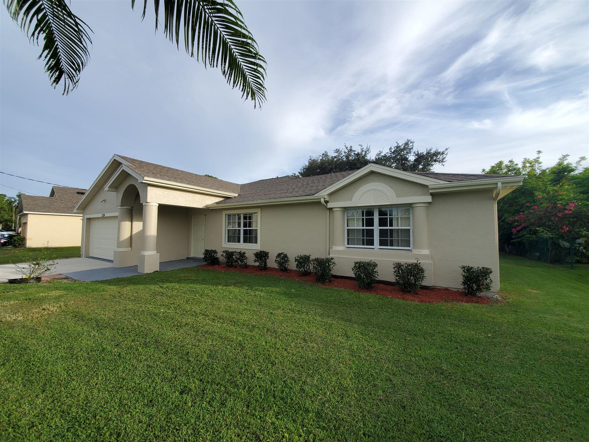 234 SW Amesbury Avenue, Port Saint Lucie, FL 34953 - #: RX-10651018