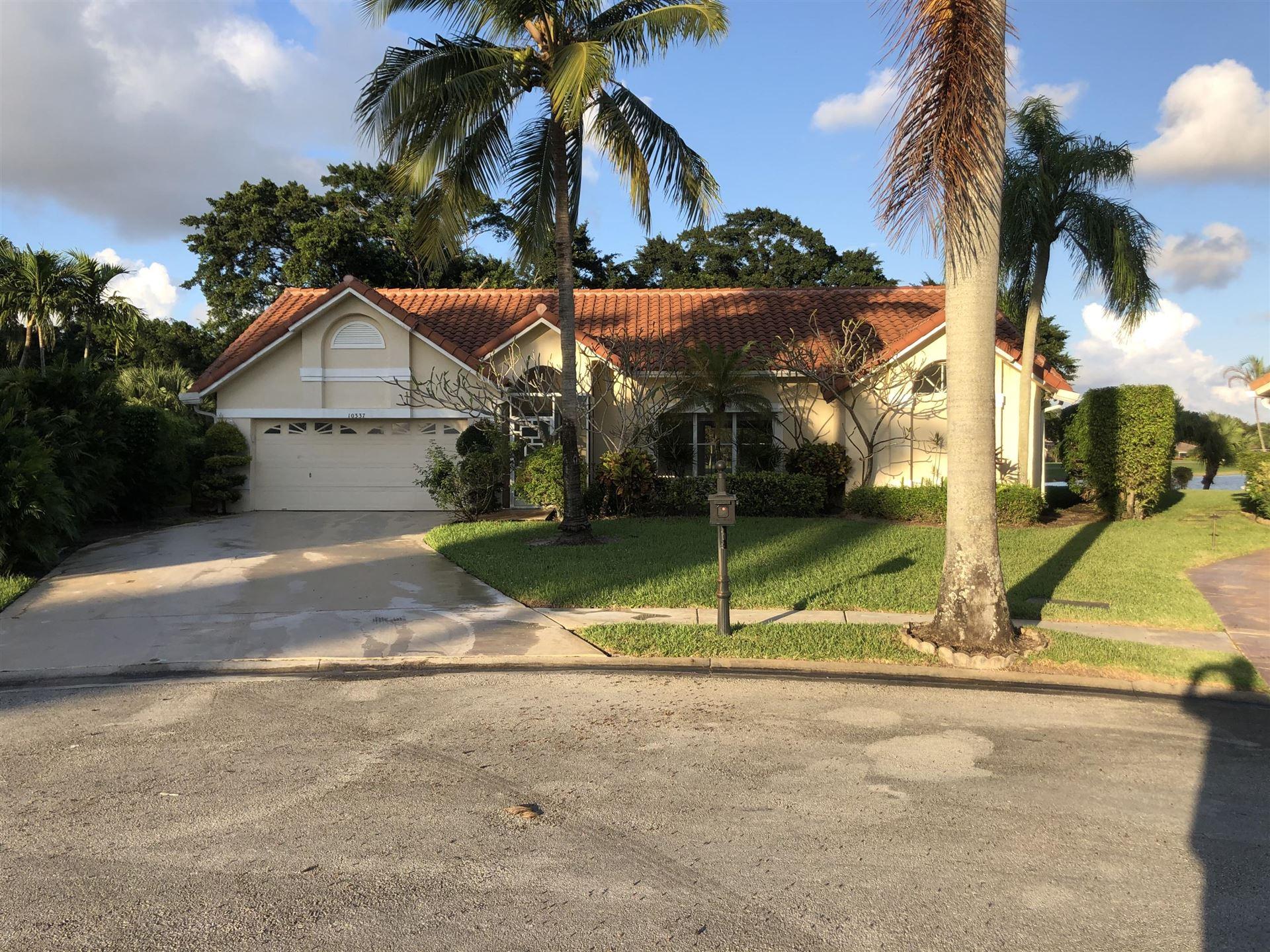 10337 Milburn Lane, Boca Raton, FL 33498 - #: RX-10672018