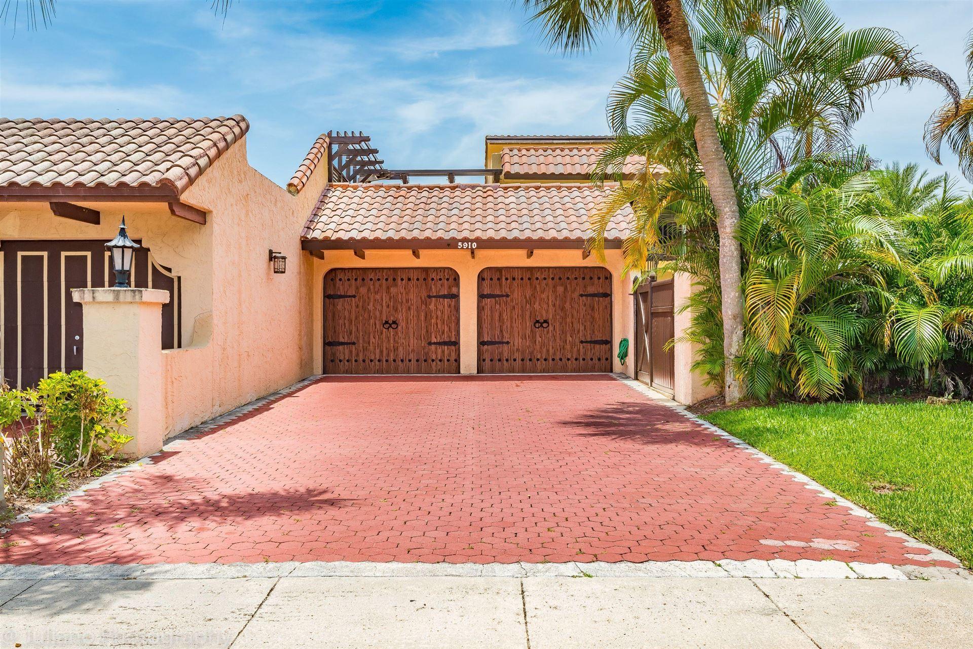 5910 Patio Drive #0, Boca Raton, FL 33433 - #: RX-10638020