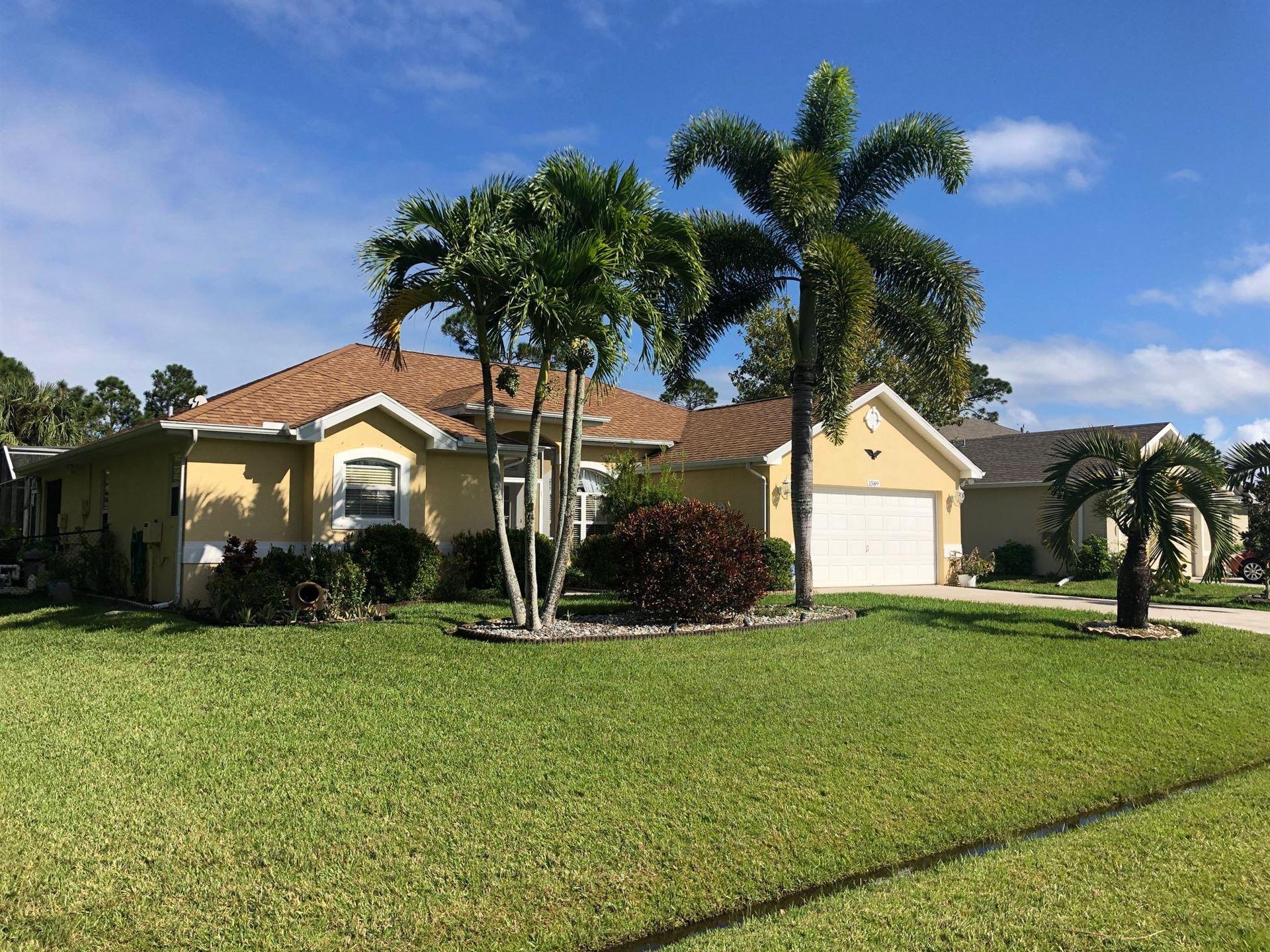 1589 SW Birkey Avenue, Port Saint Lucie, FL 34953 - #: RX-10673022