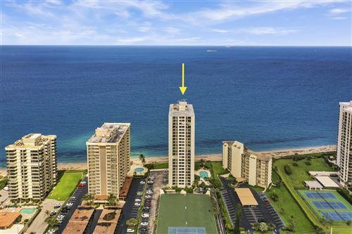 Photo of 5420 N Ocean Drive #505, Singer Island, FL 33404 (MLS # RX-10657023)