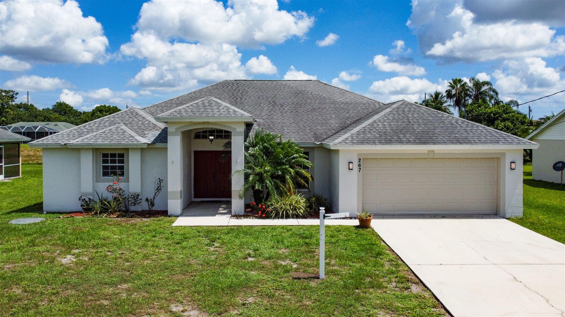 267 SW Glenwood Drive SW, Port Saint Lucie, FL 34984 - #: RX-10635023