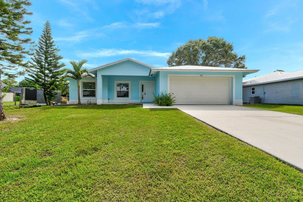 374 SE Husted Terrace, Port Saint Lucie, FL 34983 - #: RX-10754023